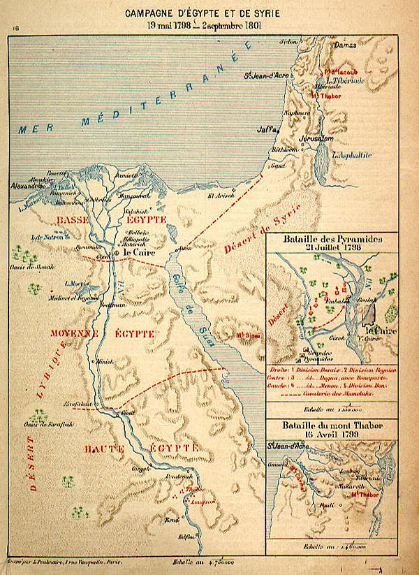 Middle East Background - Map of egypt 1920